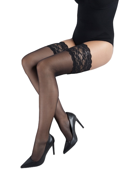 Lace Thigh High 20 Denier Stockings