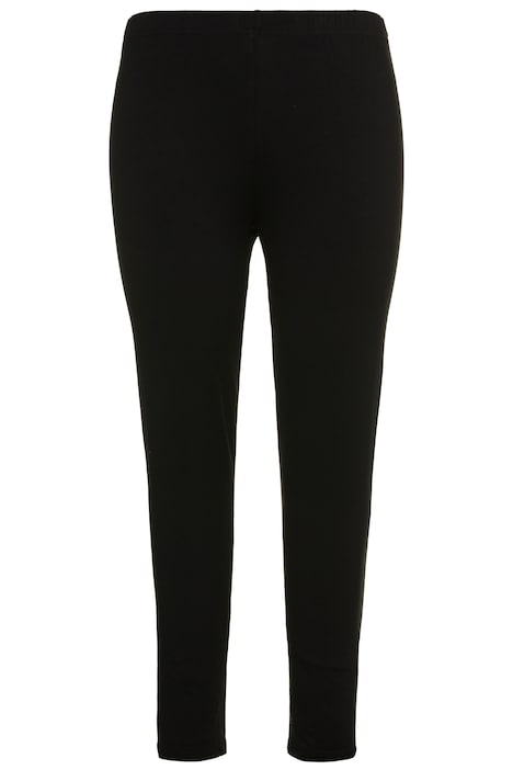 Basic Stretch Knit Ankle Length Leggings