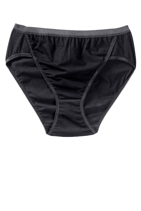 High Cut Stretch Cotton Panty