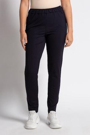 Pantalon Sienna, viscose stretch, ceinture élastiquée - Grande Taille