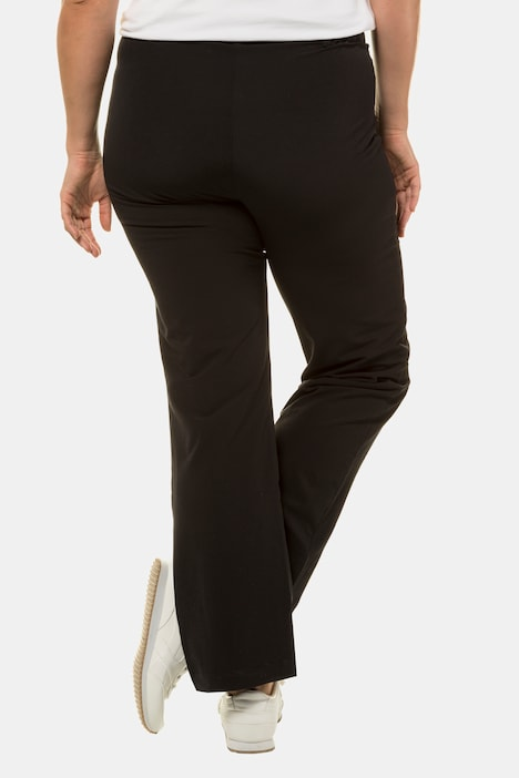 Thermal Zip Front Back Elastic Pants