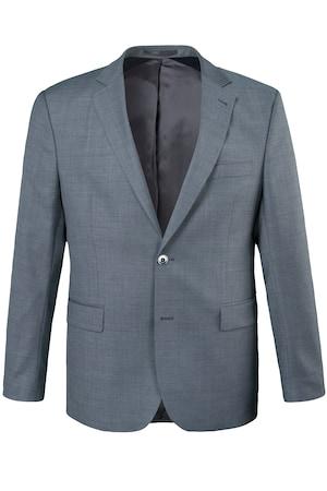 Plus_Size_Textured_Suit_Jacket