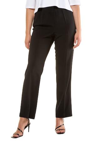 Plus_Size_Hidden_Zipper_Dress_Pants