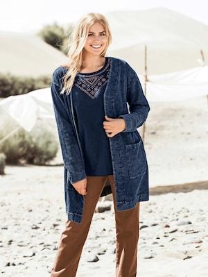 Plus_Size_Denim_Look_Sweatshirt_Jacket