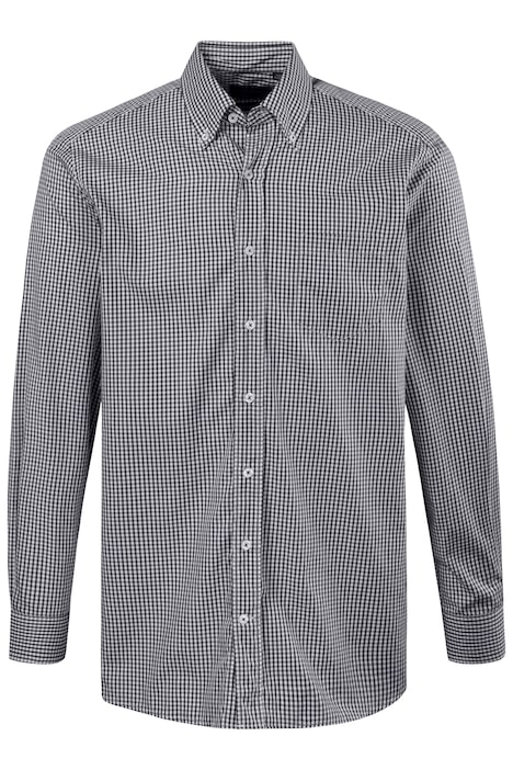 Long Sleeve Gingham Shirt Comfort fit