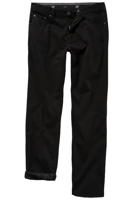 Thermal Plaid Lined 5 Pocket  Regular Fit Stretch Twill Pants