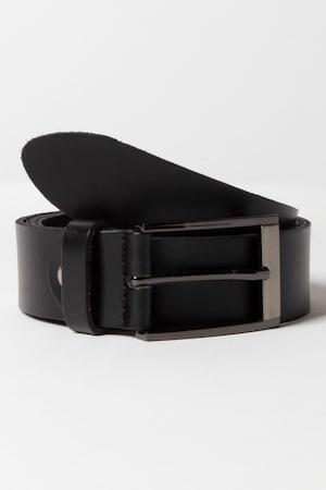 1940s Trousers, Mens Wide Leg Pants Plus Size Leather Belt Cowhide $35.95 AT vintagedancer.com