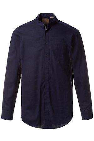 Plus_Size_Long_Sleeve_Linen_Cotton_Blend_Modern_Fit_Shirt