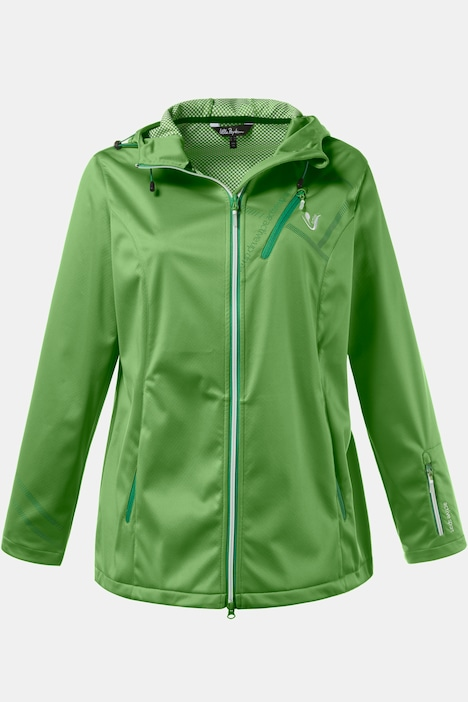 Light Softshell Zip Accent Jacket