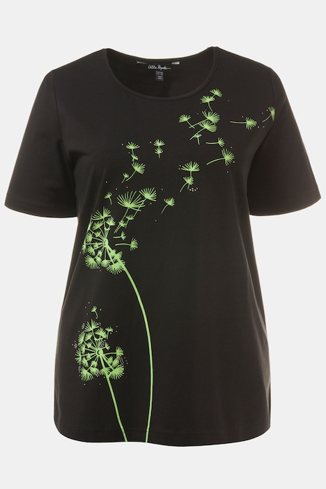 Make A Wish Dandelion Stretch Classic Fit Tee