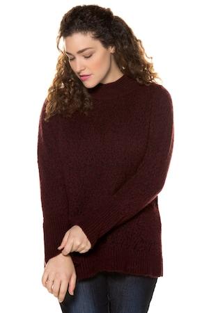 Plus_Size_Standup_Collar_Long_Sleeve_Sweater
