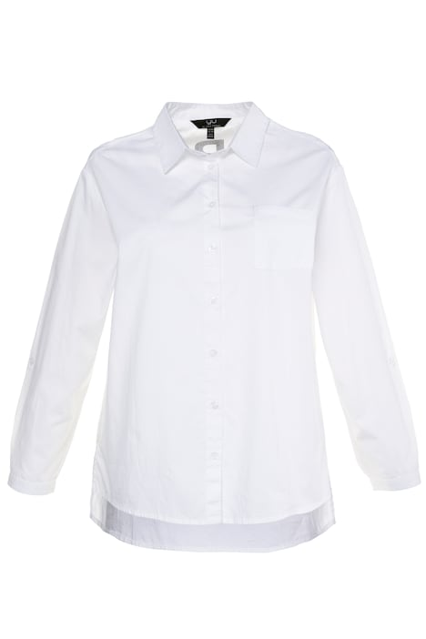 Happy End Relaxed Fit Cotton Shirt