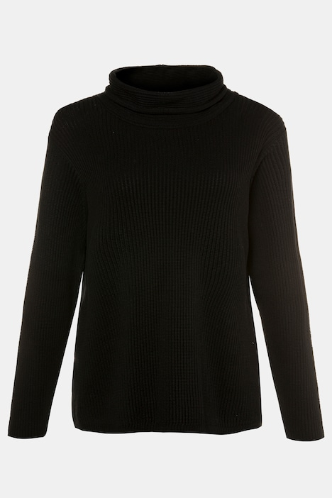 Eco Cotton Roll Neck Long Sleeve Sweater