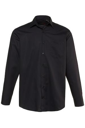 Image of Große Größen Businesshemd Herren (Größe 3XL, schwarz) | JP1880 Businesshemden | Baumwolle