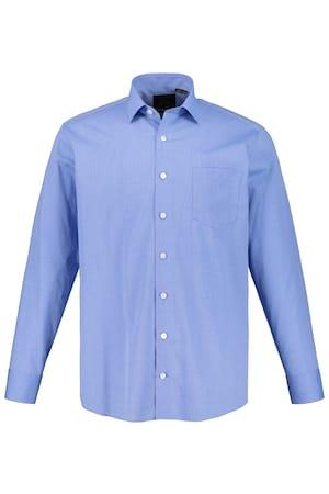 Image of Große Größen Businesshemd Herren (Größe 3XL, hellblau) | JP1880 Businesshemden | Baumwolle