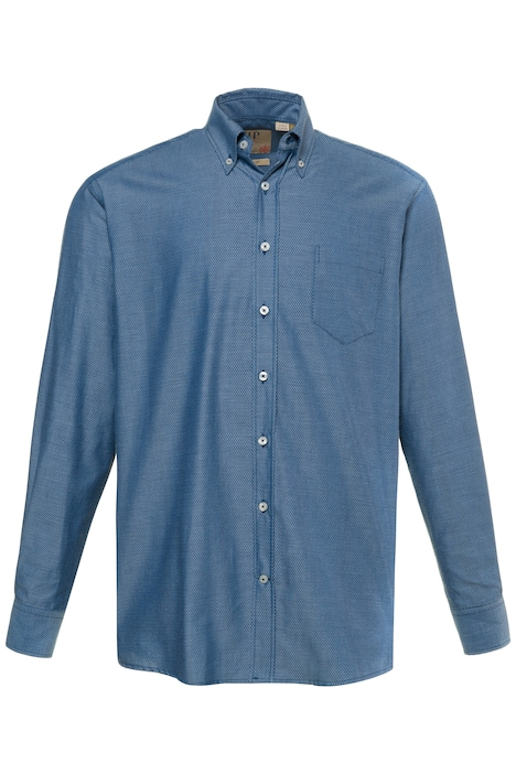 Hemd, Rautenmuster, Buttondown-Kragen, Comfort Fit