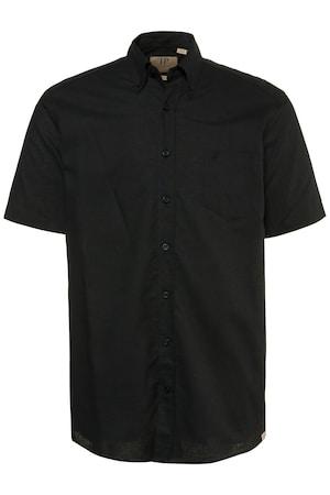 Plus_Size_Short_Sleeve_Comfort_Fit_Linen_Blend_Shirt