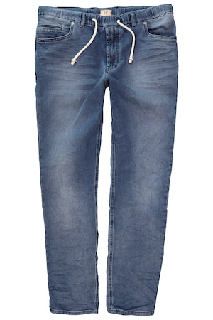 Plus Size Denim Look Super Stretch Straight Fit Jogging Pants