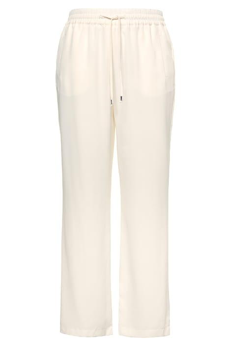 Drawstring Elastic Waist Marlene Mary Fit Pants