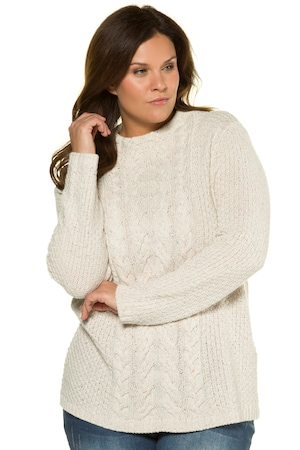 Plus_Size_Front_Cable_Mock_Neck_Long_Sleeve_Sweater