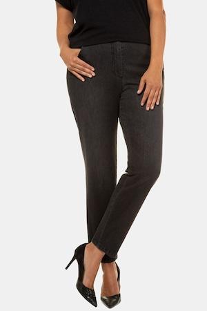 Jeans Sophie, délave, coupe droite, 5 poches - Grande Taille - Ulla Popken - Modalova