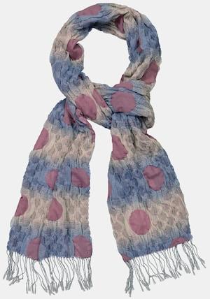 Écharpe, texture 3D, degrade de couleurs, franges - Grande Taille - Ulla Popken - Modalova