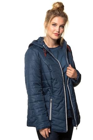 Plus Size Pebble Texture Jacket