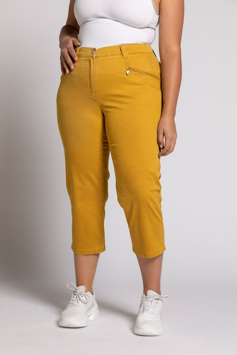 Mony Soft Stretch Capri Pants