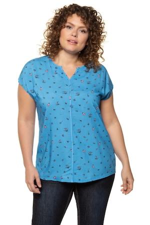 Image of Große Größen Bluse Damen (Größe 42 44, multicolor)   Ulla Popken Ärmellose Blusen   Viskose
