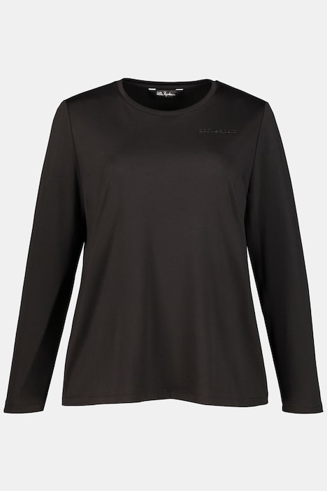 Active Sport Quick Dry Round Neck Stretch Knit Top