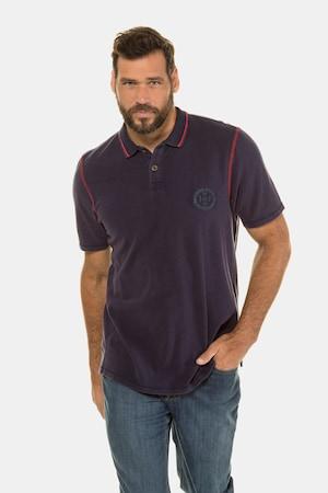 1960s Men's Clothing Plus Size Piqué  polo shirt  ethnic print $39.99 AT vintagedancer.com