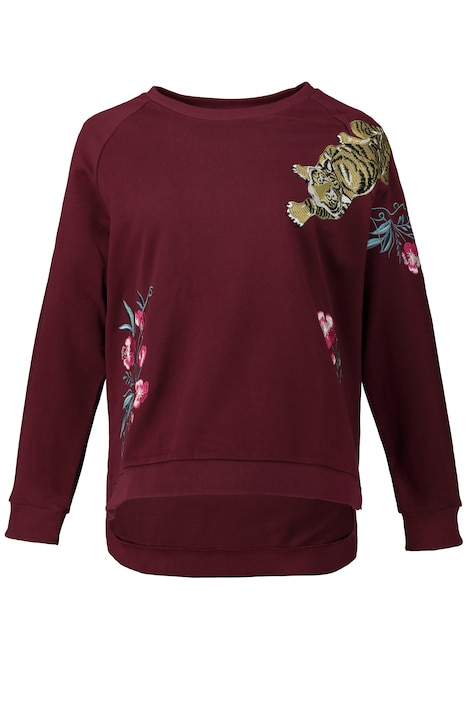 Sweatshirt, echte Tiger-Sticks, Langarm