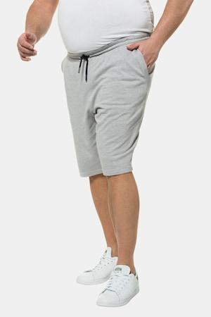 Short, sweat, ceinture élastique, jambe droite - Grande Taille