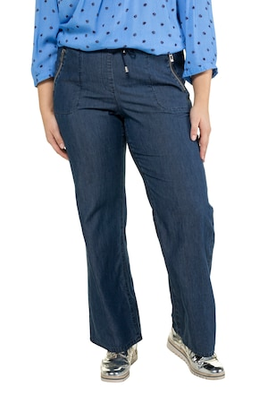 Plus Size Soft Cotton Lyocell Blend Mandy Fit Denim Pants