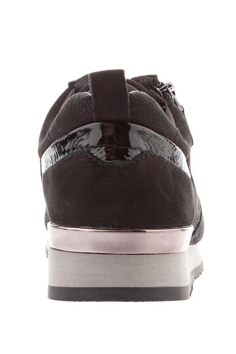 Caprice Sneaker, Zipper, Metallic Dekor, Weite H