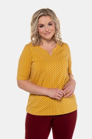 T-shirt, classic, imprimé cachemire, enc. tunique - Grande Taille - Ulla Popken - Modalova