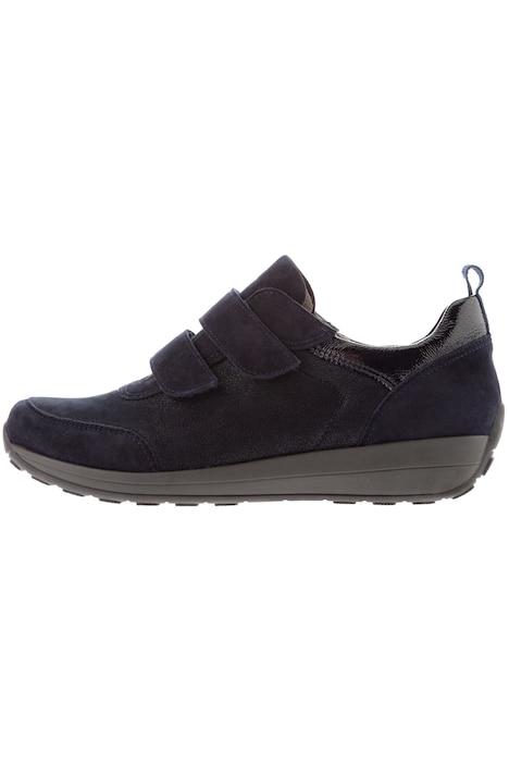 ara Sneaker, Klettverschluss, Leder, Weite H | Halbschuhe