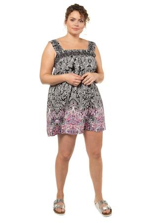 Image of Große Größen 3-in-1-Modell Damen (Größe 42 44, multicolor)   Ulla Popken Ärmellose Blusen   Viskose