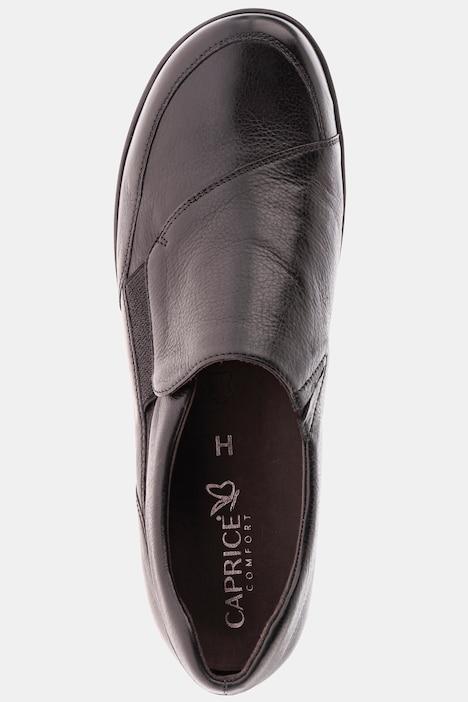 Jomos Damen Slipper mit Elastikeinsatz 38 Leder