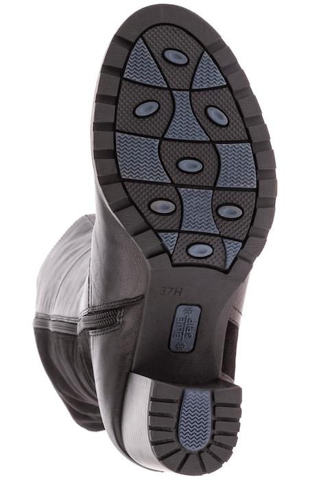 Caprice Lederstiefel, Elastikeinsätze, Weite H | Stiefel