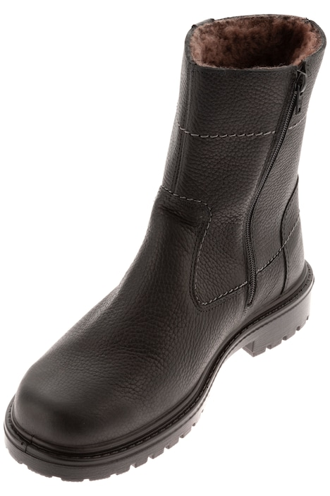 Men's ankle boots, Jomos, lace up and zipper, up to size 51