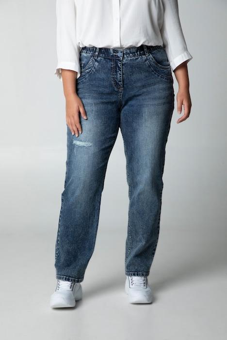 Ulla Popken Damen große Größen bis 62, Boyfriend Jeans
