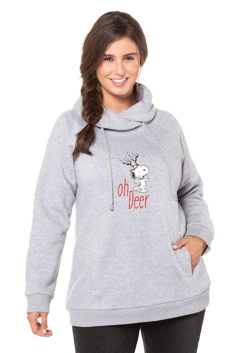 Weihnachtspullover, Snoopy Motiv, Classic, Stehkragen
