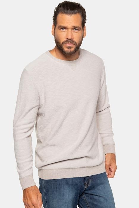 Image of Grosse Grössen Pullover, Herren, beige, Größe: 3XL, Baumwolle, JP1880