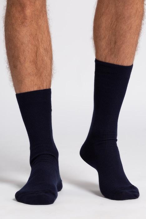 Image of Grosse Grössen JP1880 Socken, Herren, blau, Größe: 43-46, Baumwolle/Synthetische Fasern, JP1880