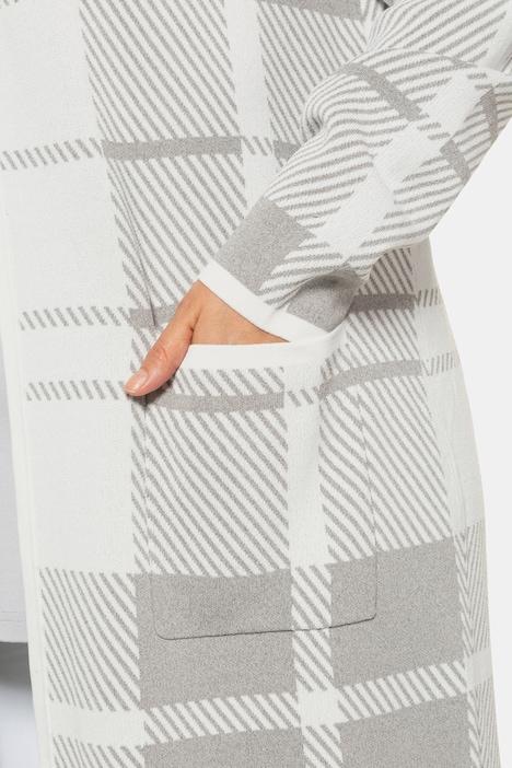 Ulla Popken Fashion Ajour-Cardigan Kiwi Neuf
