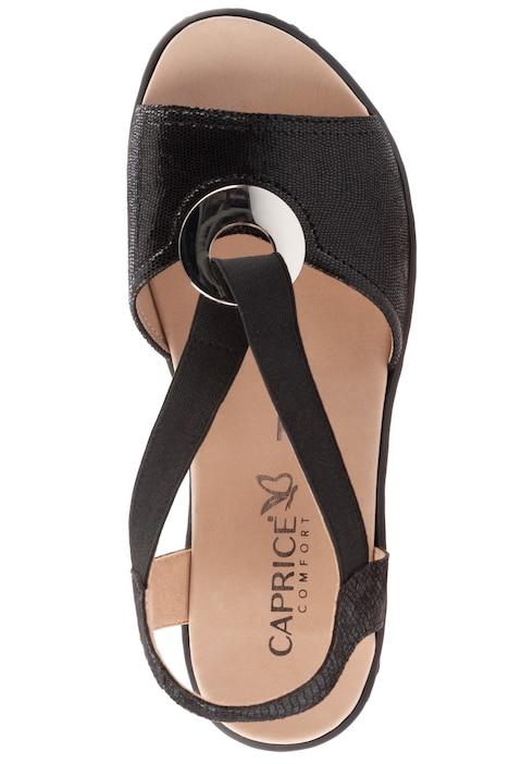 Caprice Sandalette, Lackleder, Zier Dekor   Sandalen