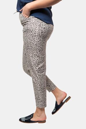 Duże rozmiary Spodnie dresowe, damska, kolorowe, rozmiar: 48, poliester/bawełna, Studio Untold