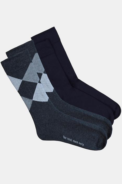 Image of Grosse Grössen JP1880 Socken, Herren, grau, Größe: 39-42, Baumwolle/Synthetische Fasern, JP1880
