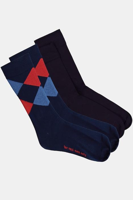 Image of Grosse Grössen JP1880 Socken, Herren, blau, Größe: 39-42, Baumwolle/Synthetische Fasern, JP1880